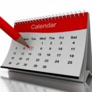 Munkaszüneti napok, munkanapok, pihenőnapok 2015-ben