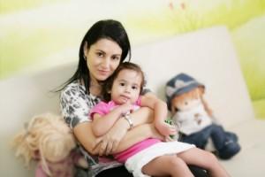 egyedülálló anya